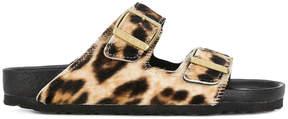 Birkenstock animal print sandals