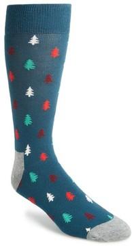 Happy Socks Men's Tree Socks