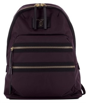 Marc by Marc Jacobs Women's Purple Fabric Backpack. - PURPLE - STYLE