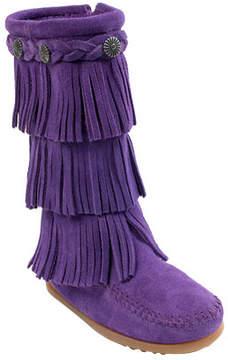 Minnetonka Girls' 3 Layer Calf Boot