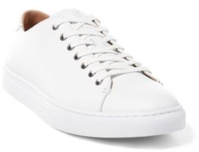 Ralph Lauren Jermain Nappa Low-Top Sneaker White 10