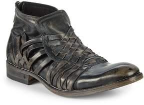 John Varvatos Men's Freeman Leather Ankle Boots