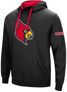 Colosseum Men's Louisville Cardinals Big Logo Hoodie