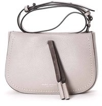 Marc Jacobs Women's Grey Leather Shoulder Bag. - GREY - STYLE