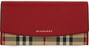 Burberry Porter leather wallet - PARADE RED - STYLE