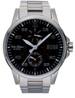 BOSS Hugo Aviator Casual Sport, Stainless Steel Watch 1513518 One Size Assorted-Pre-Pack