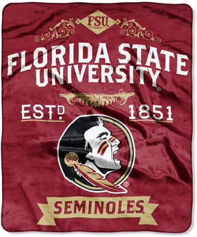 Northwest Company Florida State Seminoles Raschel Rebel Throw Blanket