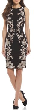 Antonio Melani Crane Floral Embroidered Dress