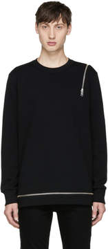 Diesel Black S-Icicle Sweatshirt