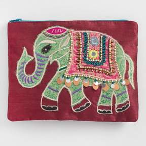 World Market Wine Elephant Pouch