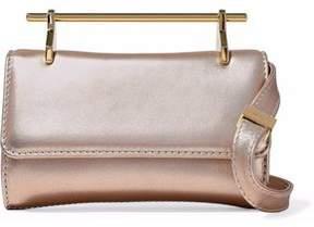 M2Malletier Fabricca Mini Glittered Leather Shoulder Bag