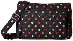 Vera Bradley Little Hipster Cross Body Handbags - HAVANA DOTS - STYLE
