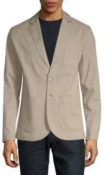 Saks Fifth Avenue BLACK Classic Notch Blazer