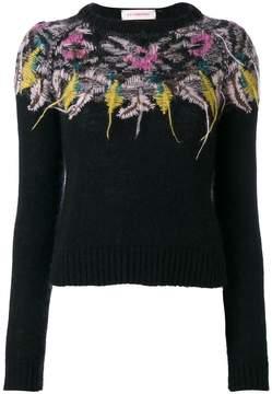 A.F.Vandevorst floral knit jumper
