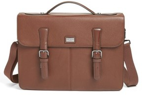 Ted Baker Men's Bengal Leather Satchel - Brown