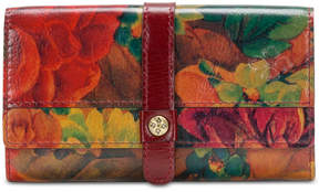 Patricia Nash Murcia Heritage Print Leather Wallet