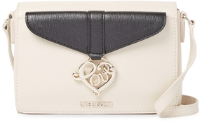 Love Moschino Women's Solid Leather Shoulder Bag