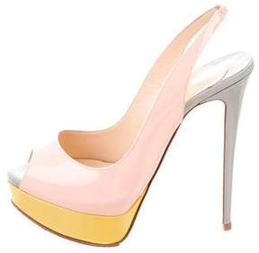 Christian Louboutin Lady Peep 150 Pumps