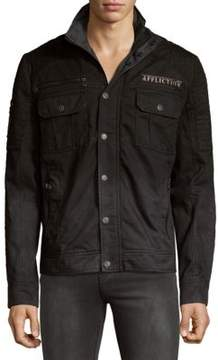 Affliction Dusty Trail Cotton Button-Down Shirt