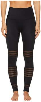 Beyond Yoga Mesh to Impress High Waist Midi Leggings Women's Clothing