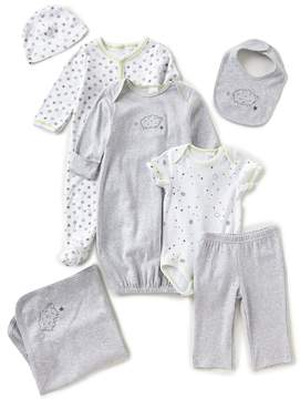 Starting Out Newborn-6 Months Lamb-Themed 7-Piece Layette Collection