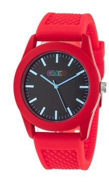 Crayo Storm Collection CRACR3702 Red Analog Watch