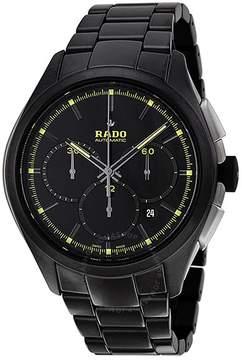 Rado Hyperchrome Automatic Chronograph Black High-Tech Ceramic Men's Watch