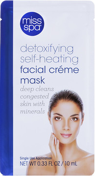 Miss Spa Detoxifying Self-Heating Facial Creme Mask