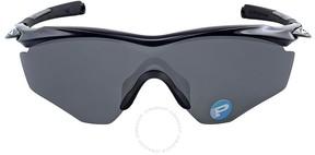 Oakley M2 Polarized Black Iridium Sunglasses