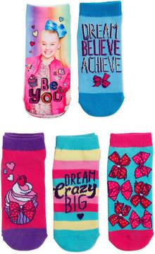 Nickelodeon Girls 2 Pair No Show Socks-Big Kid