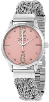 August Steiner Pink Ladies Watch