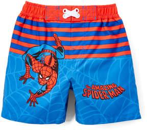 Spiderman Blue & Red Swim Trunks - Infant
