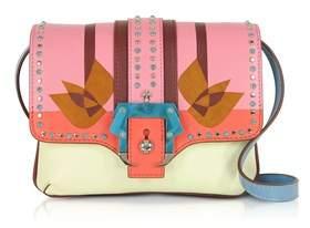 Paula Cademartori Women's Pink Leather Shoulder Bag.