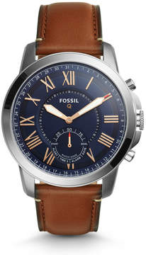 Fossil Hybrid Smartwatch - Q Grant Light Brown Leather