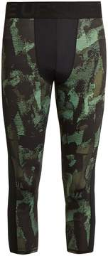 The Upside Sketchy Camouflage-print performance leggings