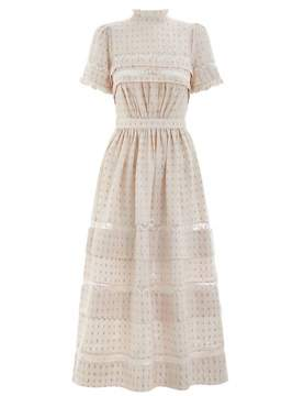 Zimmermann Helm Dot Long Dress