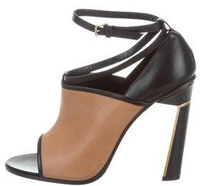 Derek Lam Leather Ankle Strap Sandals