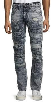 PRPS Slim-Fit Distressed Jeans