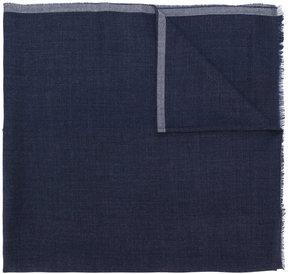 Giorgio Armani raw edge scarf