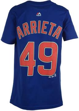 Majestic Kids' Jake Arrieta Chicago Cubs Player T-Shirt, Big Boys (8-20)