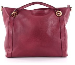 Gucci Pre-owned: Miss Gg Convertible Tote Leather Medium. - RED - STYLE