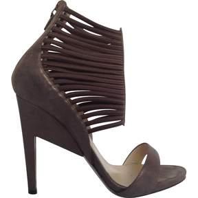 Nicholas Kirkwood Brown Leather Heels