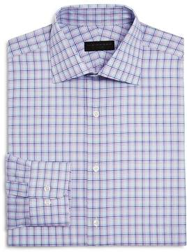 Ike Behar Check Regular Fit Dress Shirt