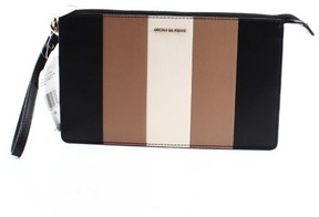 Michael Kors Beige Multistriped Daniela Wristlet Clutch Purse - BEIGES - STYLE