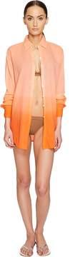 Letarte Ombre Beach Shirt Women's Swimwear