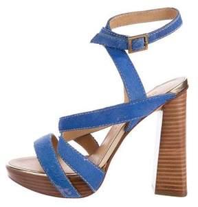 DSQUARED2 Ponyhair Platform Sandals