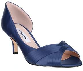 Nina Contessa Open Toe Satin Dorsay.