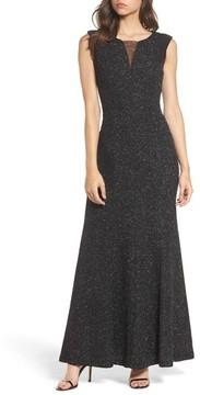 Eliza J Women's Glitter Knit Gown