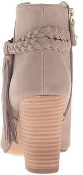 XOXO Womens Belina Peep Toe Ankle Fashion Boots.