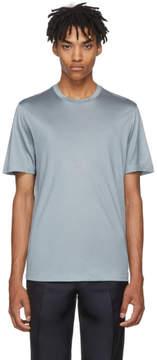 Brioni Blue Jersey T-Shirt